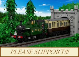 Your support needed: Lego Ideas Project: GWR 14xx by ScotNick