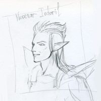 Nerevar sketch by Ardariel