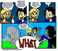 WHAT A COMIC by Nuclearpsychotic