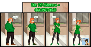 The TG Harem 6 - Collin/Clhoe by TheMightFenek