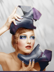 Girl 5 Colorization by morphine16