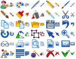 Design Icon Set by Ikont