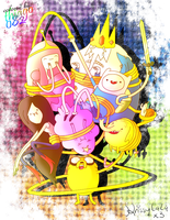 Adventure Time Colored by Thiago082