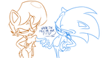 Sonic's Nagging Question by MikeSouthmoor
