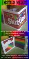 Candy Wallet - Skittles by FreckledAndFearless