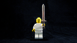 LEGO Goddess Sword by mingles
