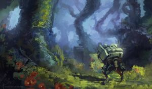 Forest scouts by Long-Pham