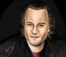 HEATH LEDGER by mari82giac
