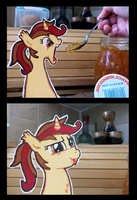 Marmalade tries orange marmalade by MysteryMint
