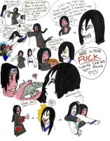 Oro and Itachi OOC doodles by orochimartyr
