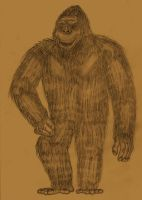 King Kong, circa 1962 by Adiraiju