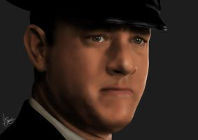 Paul Edgecomb - The Green Mile - Tom Hanks by Unam-et-solum