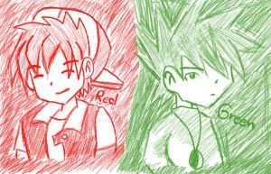 Red and Green XD by pichu22cj