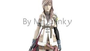 Lightning Final Fantasy XIII by mr-juanky