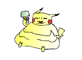 Fatpika by RyomaGod