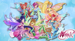Bloomix Fairy Couture Wallpaper by Wizplace