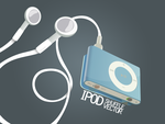 Ipod Shuffle Vector by Dewoodesign
