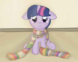 Filly Twilight's Swagtacular New Scarf by CaptainBritish