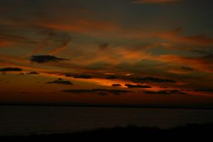 Another sunset in Rhode Island 2 by K-L-R