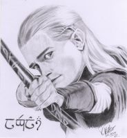 Legolas Greenleaf by verrykt