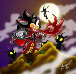Kingdom Hearts ShadowvsShadow by chibi-jen-hen