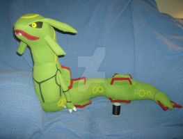 Comm: Rayquaza Plush + PATTERN AVAILABLE