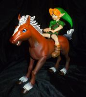Ride, Link!  Ride! by Linksliltri4ce