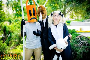 Lenore, Taxidermy and Pooty Applewater Cosplay - 1 by valeravalerevna