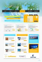 Paradise Travel by MA-Graphics
