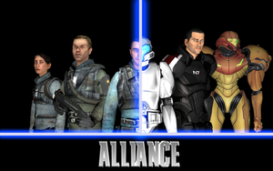 Alliance (GMod Crossover series) - Teaser Poster by benoski
