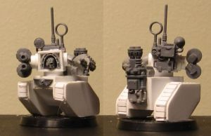 Legio Cybernetica Robot WIP by ROBOPOPE