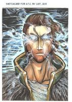 Anders Sketch Card 2 by notationn