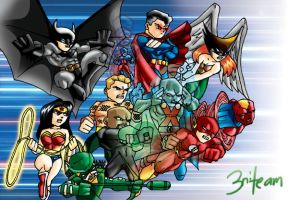 Justice League by 3niteam