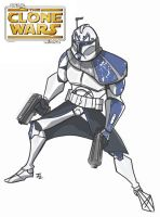 Captain Rex by Chrisgemini