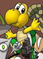 Koopa Troopa by BeardBeyond