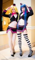 Thank You For Riding - Panty and Stocking by Mostflogged