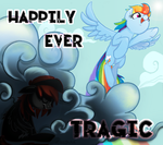 Happily Ever Tragic Album Art by Rabbitasaur