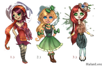 Spunky and Flashy Set Priced Adopts by HalanLore