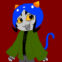 nepeta :33 by FurryHater