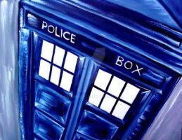 Doctor Who Tardis1 by BWierdArt