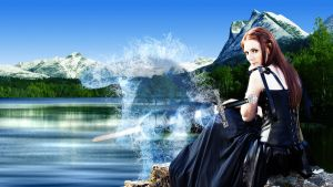 Lady of the Lake by FoolEcho