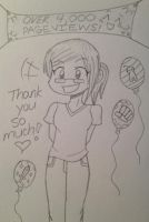 Thank you!! by Alivoir