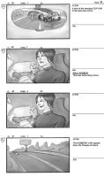 Car Chase Storyboard - p.22 by Colonel-Crowe