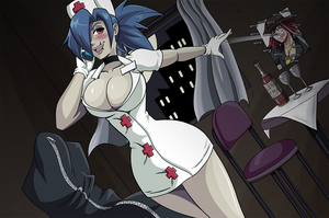 SkullGirls: Valentine's Call by Shouhda