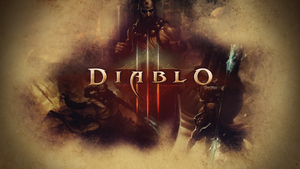 Diablo 3 Wallpaper feat. Monk by PT-Desu