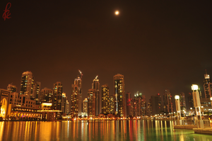 City Under Moon Light by faizan47
