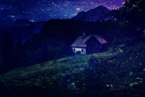 Cabin by aresgirl34