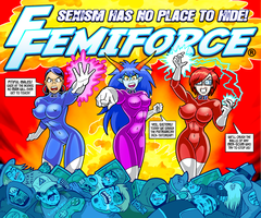 Femiforce Assemble by curtsibling