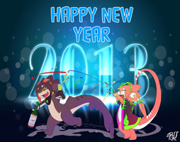 HAPPY NEW YEAR 2013 by phation