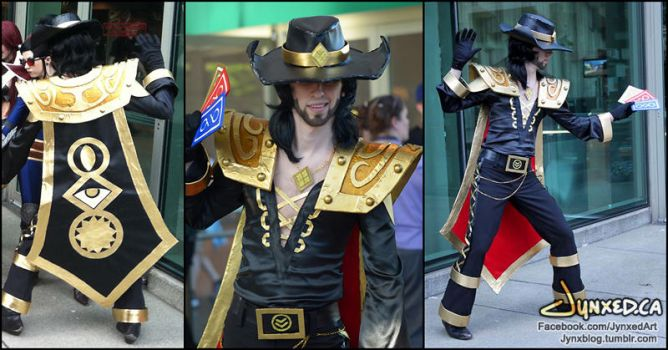 Twisted Fate cosplay | League of Legends by Jynxed-Art